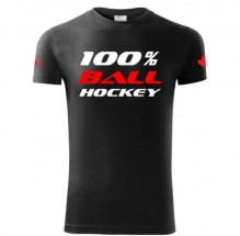 100% Ballhockey Canada T-shirt SLIM FIT
