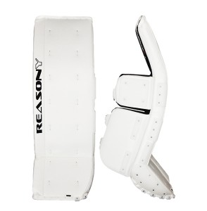 Efficiency ball hockey goalie pads