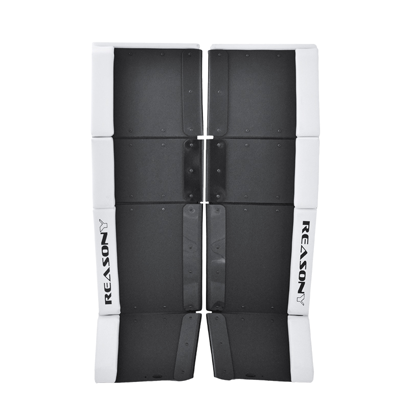 ball hockey goalie pads with sliders