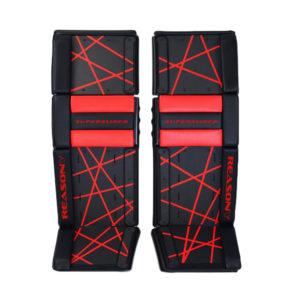 ball hockey goalie pads with sliders
