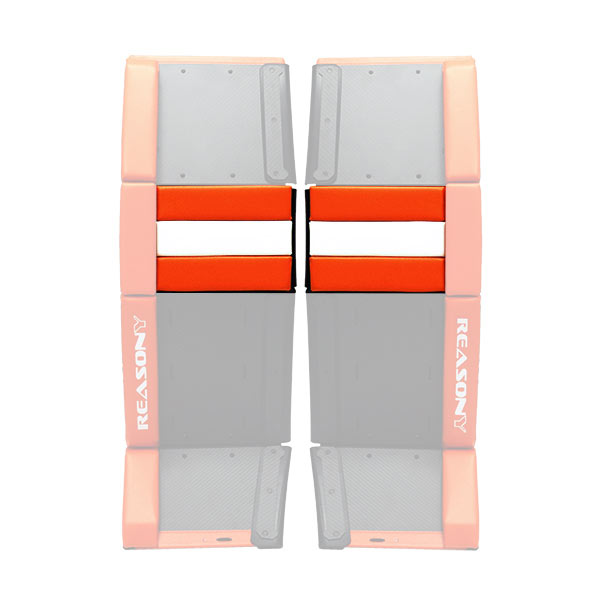 ball hockey goalie pads knee rolls