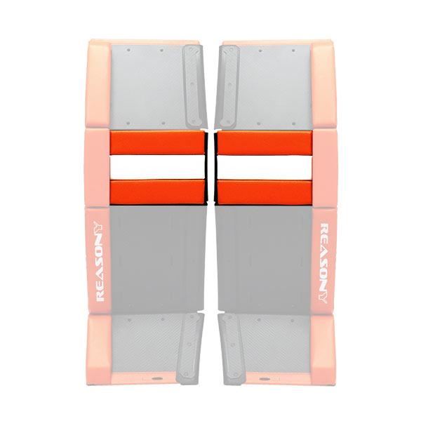 ball hockey goalie pads knee rolls