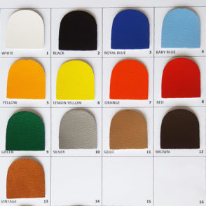 PU leather colours