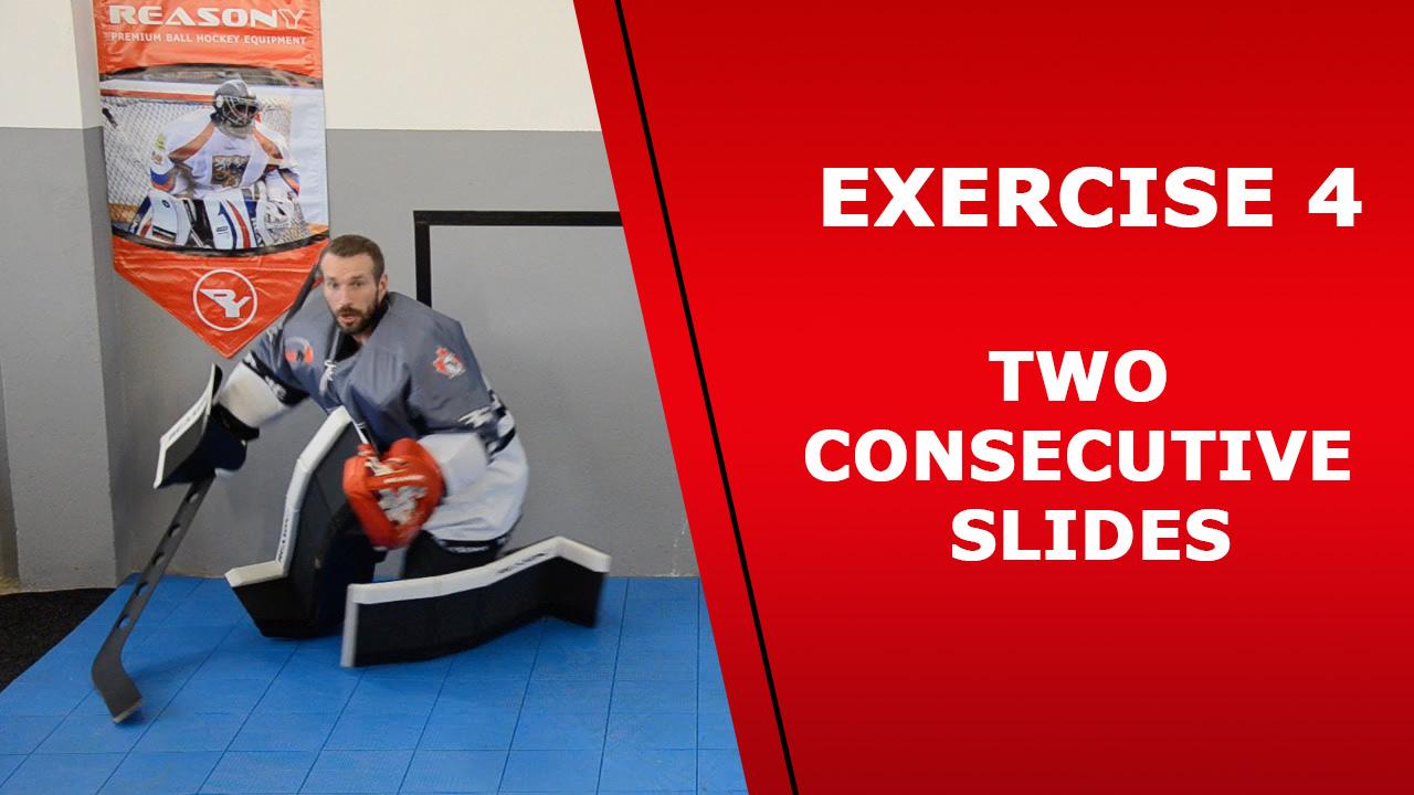ball hockey goalie exercise