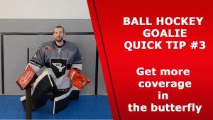 goalie butterlfy slide out