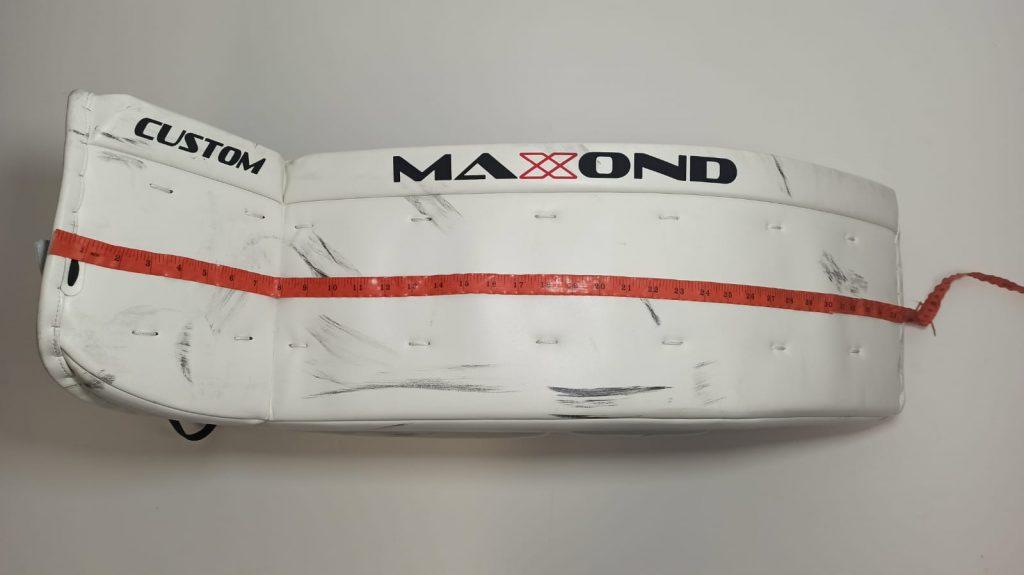 goalie pads length
