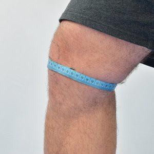 ball hockey shin pads knee measurement