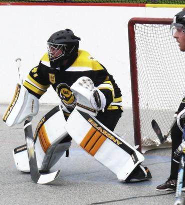 Ball Hockey Goalies Are Evolving Their Technique Reasony Hockey