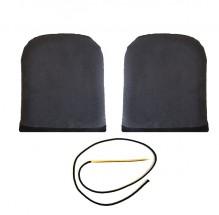 XL knee stacks for ball hockey goalie pads
